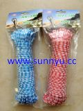 Nylon Rope Polypropylene Hollow Braided Rope, Hollow Rope Plastics Rope