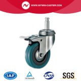 4inch Grip Ring Light Duty Casters with Brake