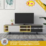 Metal Legs Glass Modern Home Furniture TV Stand (HX-8ND9203)