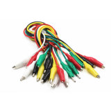Brand New Alligator Clips Electrical DIY Test Leads Alligator Double-Ended Crocodile Jumper Wire