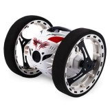 RC Toy Bounce Car Electric Remote Control 2.4GHz High Speed Buggy Truck Rechargeable off-Road Shock Resistance Flexible Wheels Switch Racing Car for Kids and S