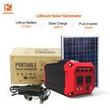 Multi-Functional Portable Outdoor/Home Solar Generator System 300W