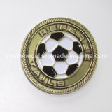 Custom Zinc Alloy Football Match Souvenir Coin
