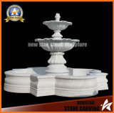 Garden Decoration Marble Sculpture Water Feature Stone Fountain