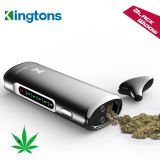 Kingtons Black Widow Dry Herb Vaporizer with Ceramic Heating Chamber