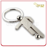 Promotional Gift Football Player Metal Zinc Alloy Keychain