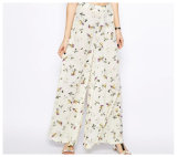 Casual Loose Cheap Custom Printed Wide Leg Pant Wholesale China