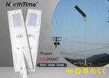 6W-120W Integrated Solar Powered LED Street Lights with Motion Sensor