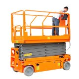 Durable Using Time 8m Self Propelled Scissor Lift with Electric Motor Driving