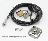 Computer Lock, Cable Lock, Laptop Lock, Desktop Lock Al-2000-03
