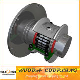 Large Transmission Torque Clutch Connected Grid Coupling