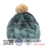 2015 Girls Crochet Beanie Hats (GKM04-Q0026)
