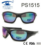 Latest Sports Style Hot Sale Frame Plastic Sunglasses (PS1515)