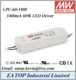 Mean Well 60W 1400mA Constant Current LED Driver Meanwell Lpc-60-1400
