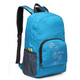 Backpack Polyester Student Travel Backpacks Fashion Bags Blue Rn1241