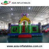 Inflatable Fire Rescue Truck Jumping Castle, Inflatable Fire Truck Bouncer for Sale