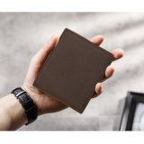 Good Quality Genuine Leather Bifold Men Wallet From China Manufacturer