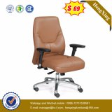 Modern Leather Office Visitor Waiting Swivel Chair (HX-AC006B)