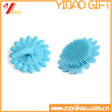 Blue Color Cleaning Silicone Soft Bush, Silicone Bath Brush (XY-BS-130)