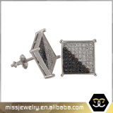 Hip Hop Style Square Shaped Earrings for Man