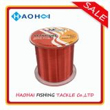 Red Color Transparent Abrasion Resistance Monofilament Nylon Fishing Tackle