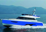 Hq50FT 12 Seats Luxury Yacht Speed Boat Aluminum Hull 20 Knots
