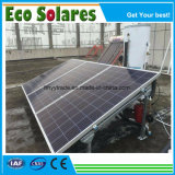 Split Pressure Solar Water Heater with PV Panel Type Solar Collector