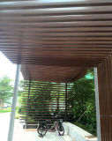 WPC Eco Hollow Timber Tube Wood Composite Timber Indoor Decoration Cheap Timber Square Tube