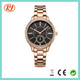 Fashion Colorful Leather Wholesales Alloy Bracelet Wrist Watch for Lady