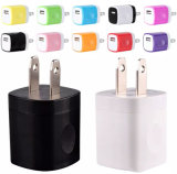 Tc60 Mini Bi-Color Travel USB Wall Mobile Phone Charger