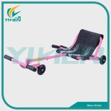 Child Play Flash Light PU Wheel Easy Roller Scooter Toys Wave Roller Car