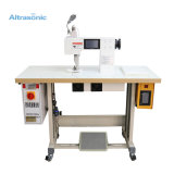 20kHz Ultrasonic Sewing Machine with Touch Screen Rotary Welding Mould High Speed Efficiency