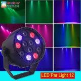 Wholesale 12PCS 1W RGBW LED PAR Light Cans for Nightclub