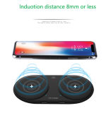 Phone Charging Pad Qi Wireless Charger 2 in 1