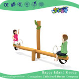 Cute Wooden Material Seesaw Outdoor Equipment for Sale (HJ-16002)