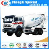 Rear Discharging 12m3 Cement Mobile Mixers Drum Concrete Mixer Truck