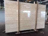 Beige Travertine Paving/Flooring Tile/French Pattern/Slab Vein Cut/Cross Cut Travertine Unfilled/Filled and Honed/Polished