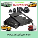4G 3G 4CH Mobile DVR for Vehicles Trucks Buses Cars