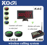 Kitchen Wireless Service Calling System for Restaurant
