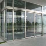 Exterior Stainless Steel Glass Commercial Entry Security Door