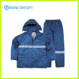 Waterproof Polyester PVC Reflective Safety Work Wear (Rpy-060)