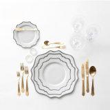 Paibee Hot Sale Ceramic Dinnerware Sets Plates Sets Porcelain Tableware for Home/ Restaurant