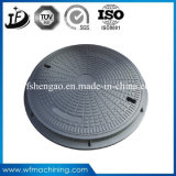 Cast Iron Green Sand Casting Sewer Grate Drain Manhole Cover with Painting Service