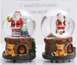 Polyresin Christmas Decoration Gift Water Globe