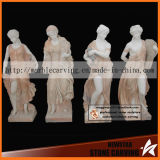 Harvesting Four Season Gods Women Sculptures for Garden