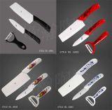 Ceramic Knife Sets, Paring Fruit Utility Chef, Kitchen Knives + Peeler