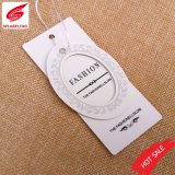 Guangzhou Accessory Custom Cheap Clothing Tags / Garment Hang Tag Supplier / Thread for Hang Tag