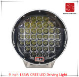 LED Car Light of 9 Inch 185W CREE LED Driving Light for SUV Car LED Offroad Light and LED Work Light