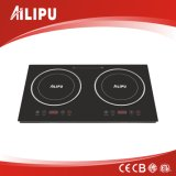 Metal Ring Double Burners Induction Cooker with Touch Control (SM-DIC06)