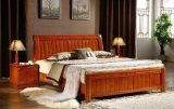 Solid Wooden Beds Modern Design Popular Adult Wooden Bed (M-X2069)